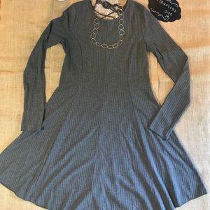Maurices Fit & Flare Rib Knit Dress - Medium - EUC